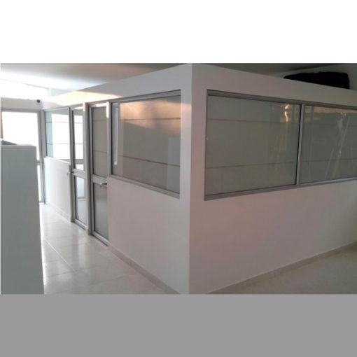 Division-en-Drywall-y-Aluminio-Oficinas-Ideal
